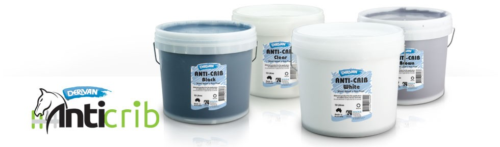 Group image of Derivan's Range of Anti-Crib Colours in 10 Litre Pails.